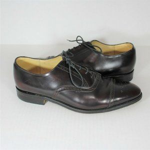 Grenson Made In Italy Cap Toe Brogue Shoes B477